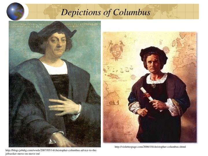 Depictions of Columbus