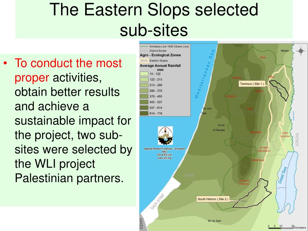 The Eastern Slops selected