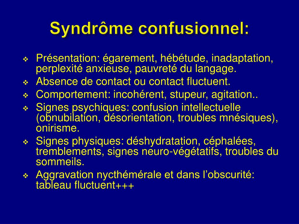 Syndrôme