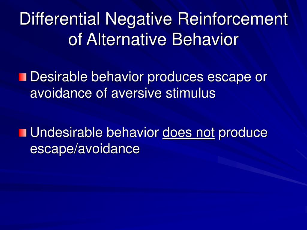 desirable and undesirable behaviors Stimulus control technique to reduce undesirable behaviors using a multiple-baseline design once the cue for a target behavior was established and.
