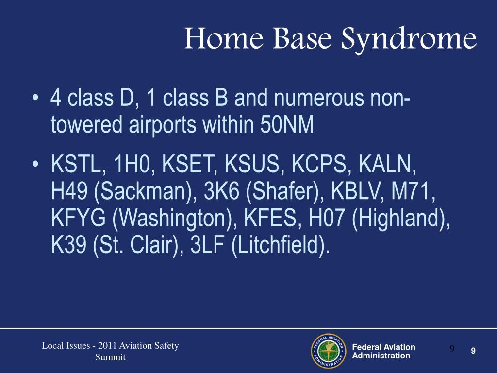 Home Base Syndrome