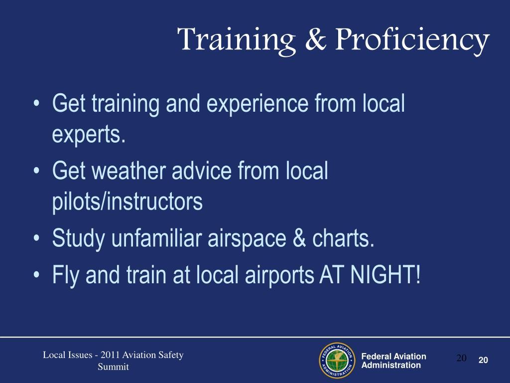 Training & Proficiency