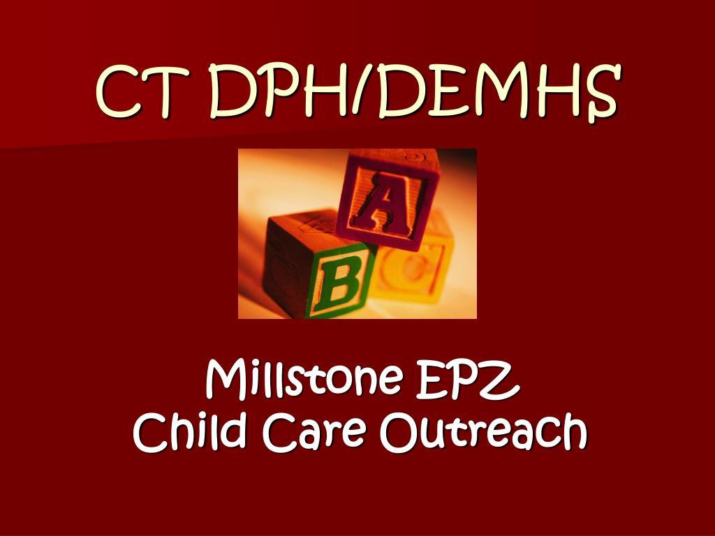 CT DPH/DEMHS