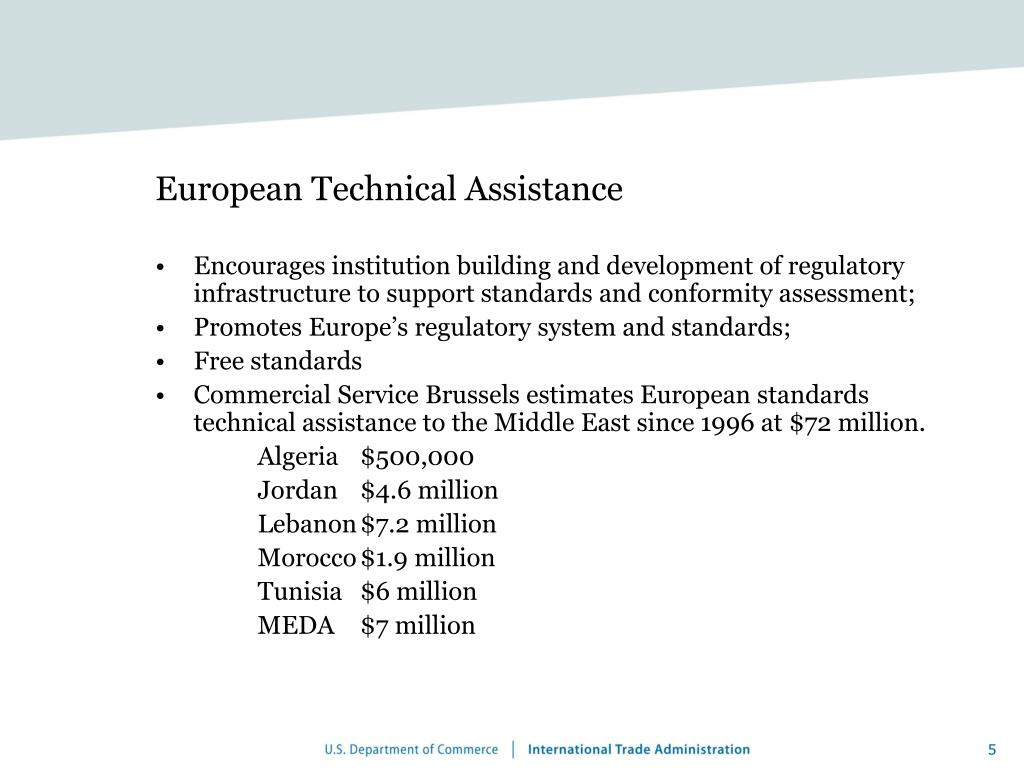 European Technical Assistance