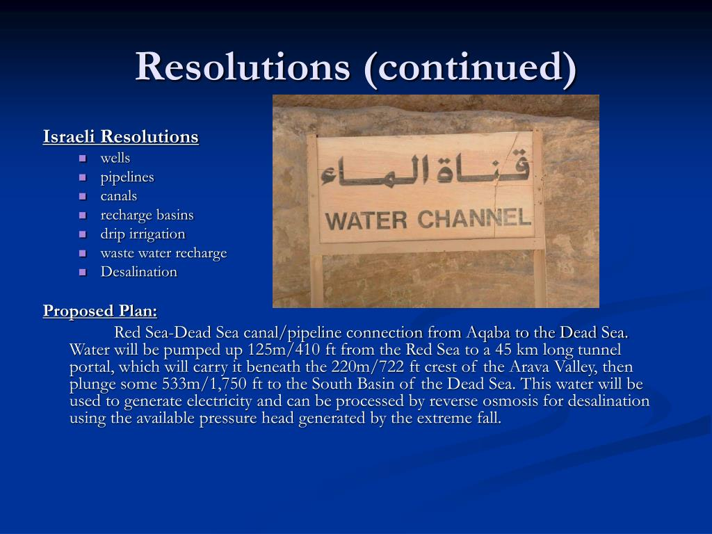 Resolutions (continued)