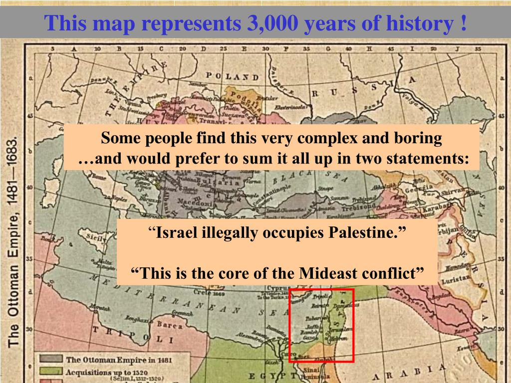 This map represents 3,000 years of history !