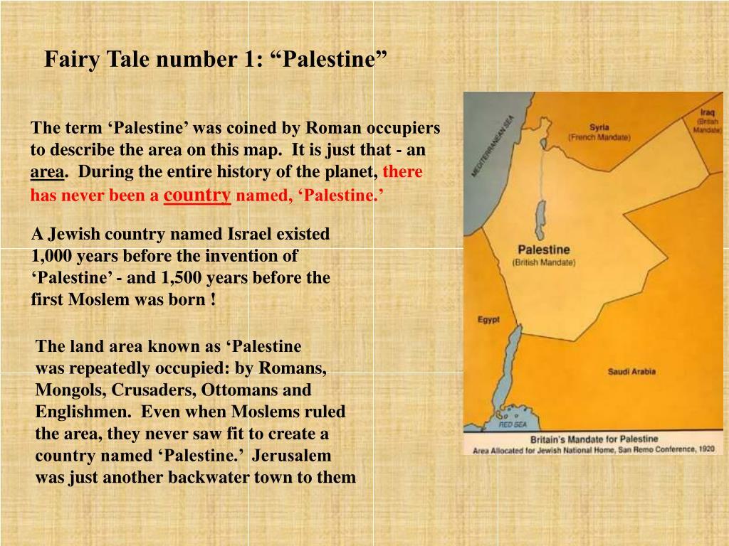 "Fairy Tale number 1: ""Palestine"""