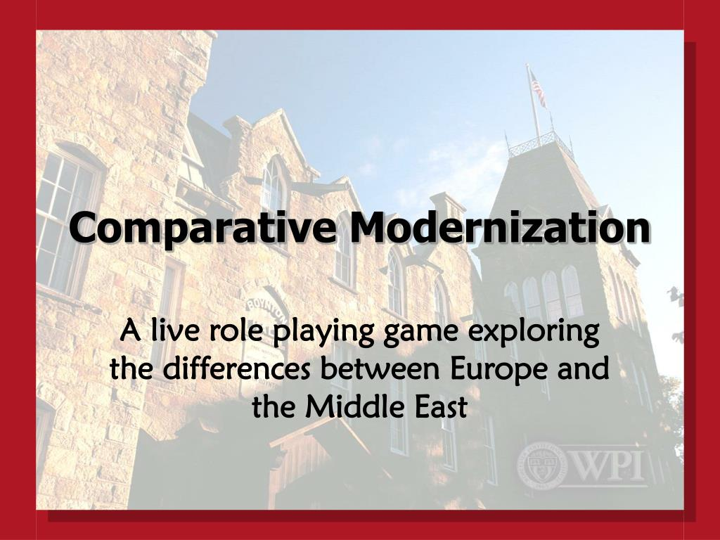 Comparative Modernization