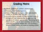 grading metric