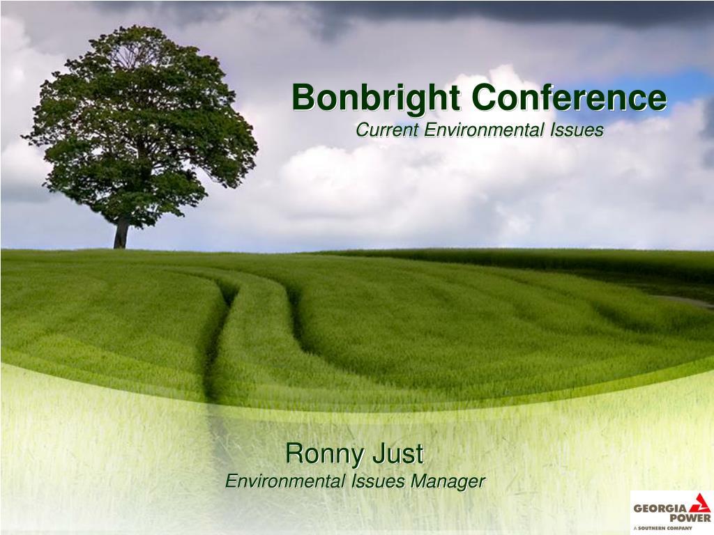Bonbright Conference