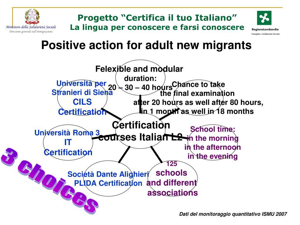 """Progetto """"Certifica il tuo Italiano"""""""