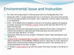 environmental issue and instruction5