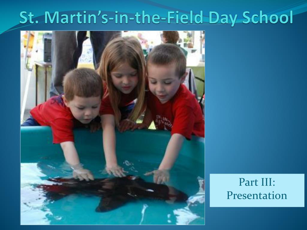 st martin s in the field day school
