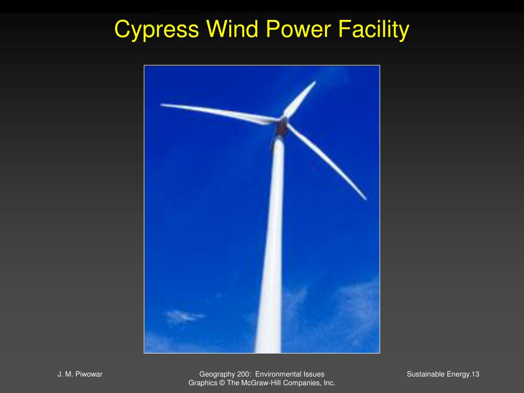 Cypress Wind Power Facility
