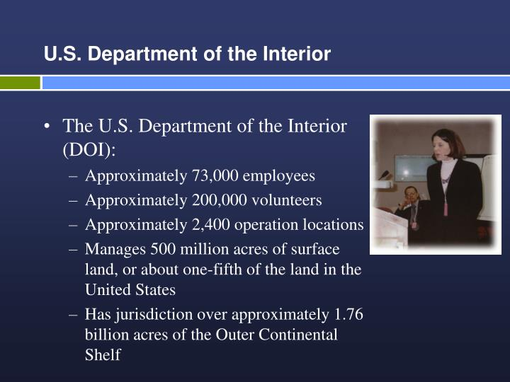 U s department of the interior3