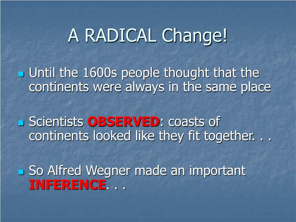what were the radical changes that Definition of radical change in the definitionsnet dictionary meaning of radical change what does radical change mean information and translations of radical.