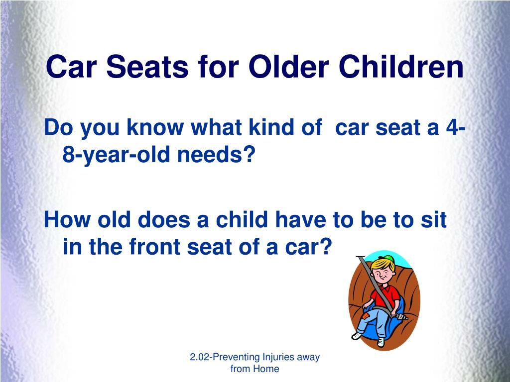 Car Seats for Older Children