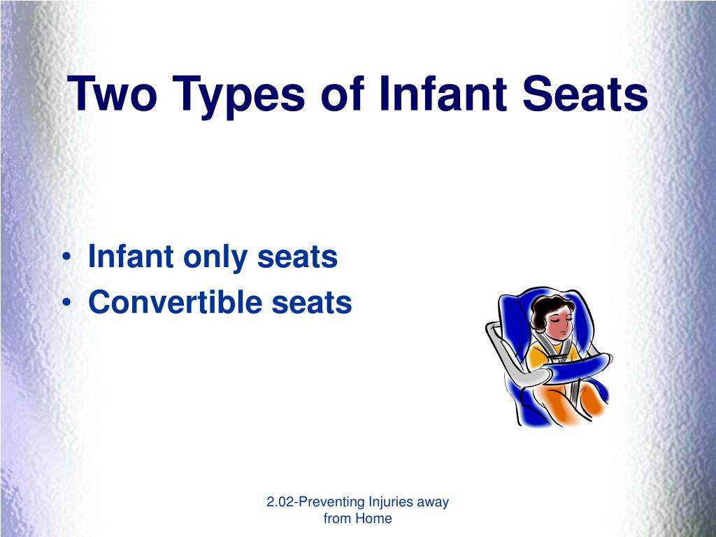 Two Types of Infant Seats