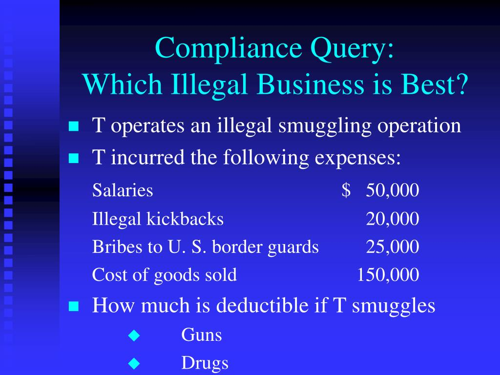 Compliance Query: