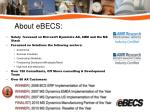 about ebecs