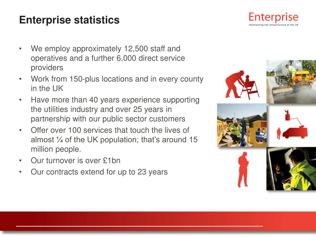 Enterprise statistics