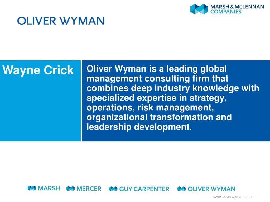 Wayne Crick