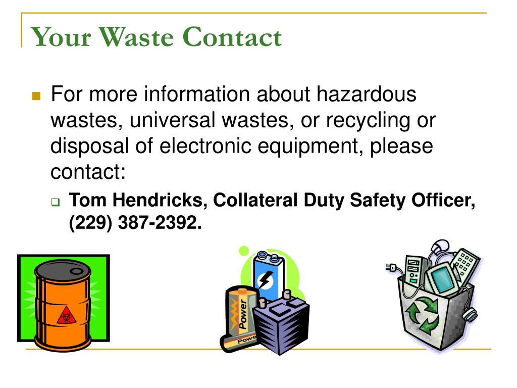 Your Waste Contact