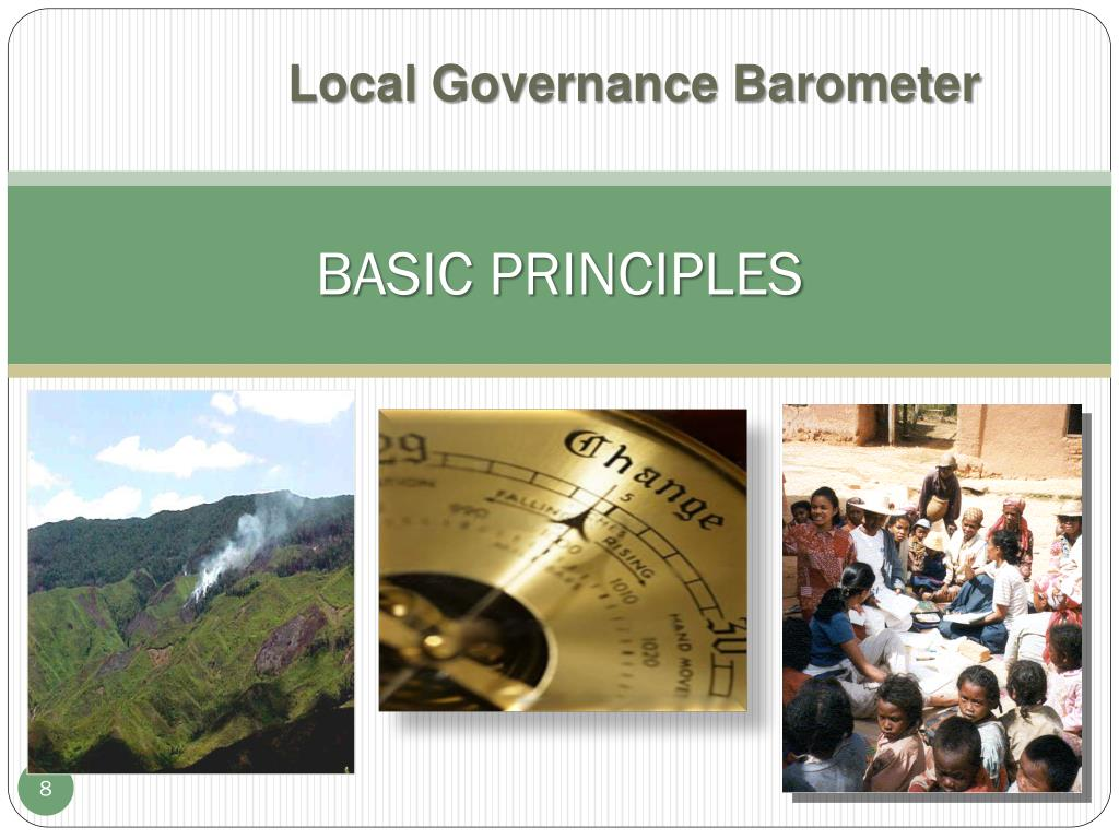 Local Governance Barometer