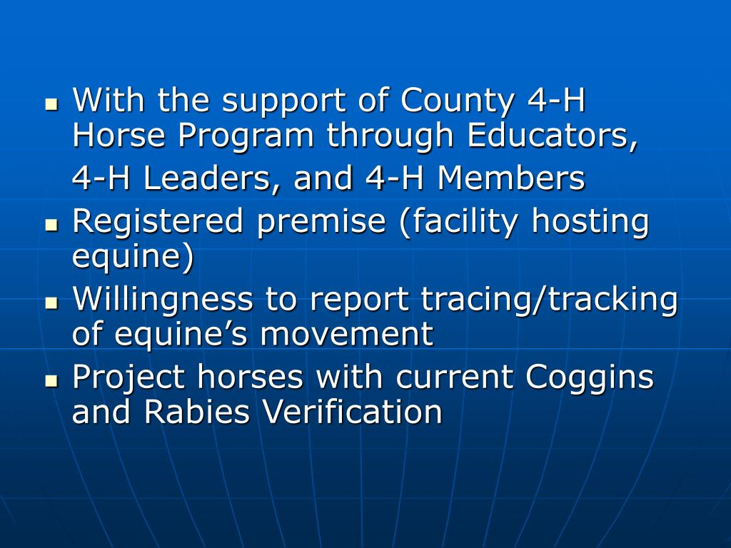 With the support of County 4-H Horse Program through Educators,