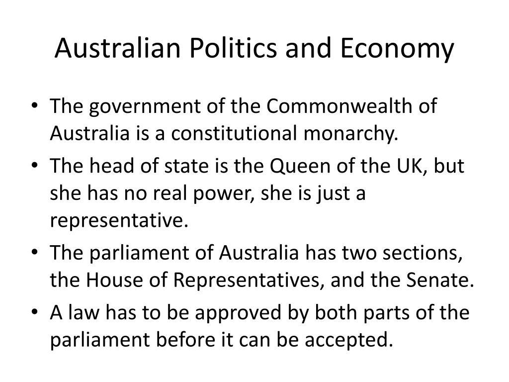 Australian Politics and Economy