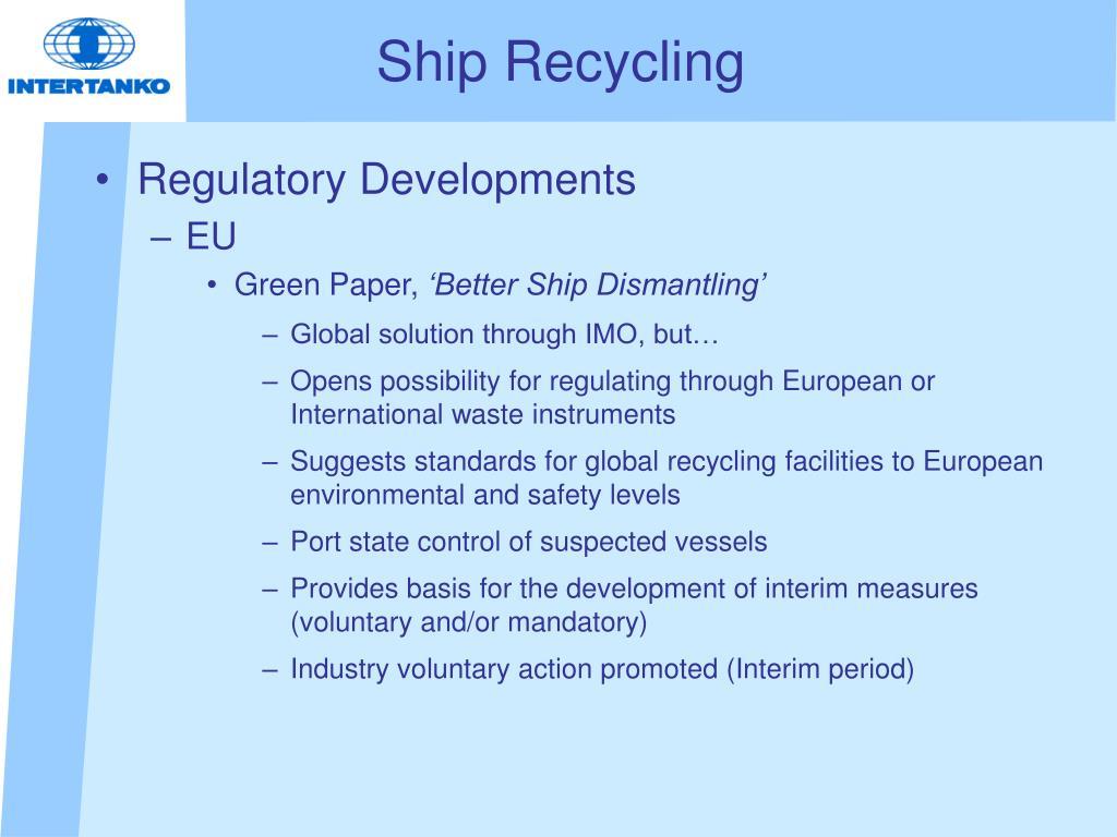 Ship Recycling