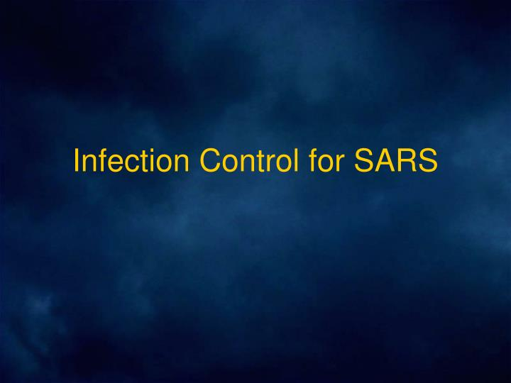 Infection control for sars l.jpg
