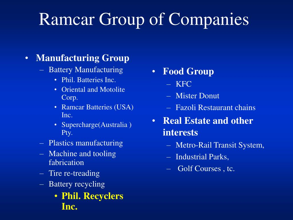 Manufacturing Group