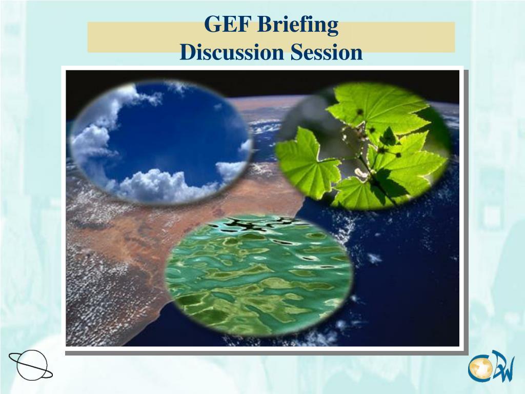 GEF Briefing