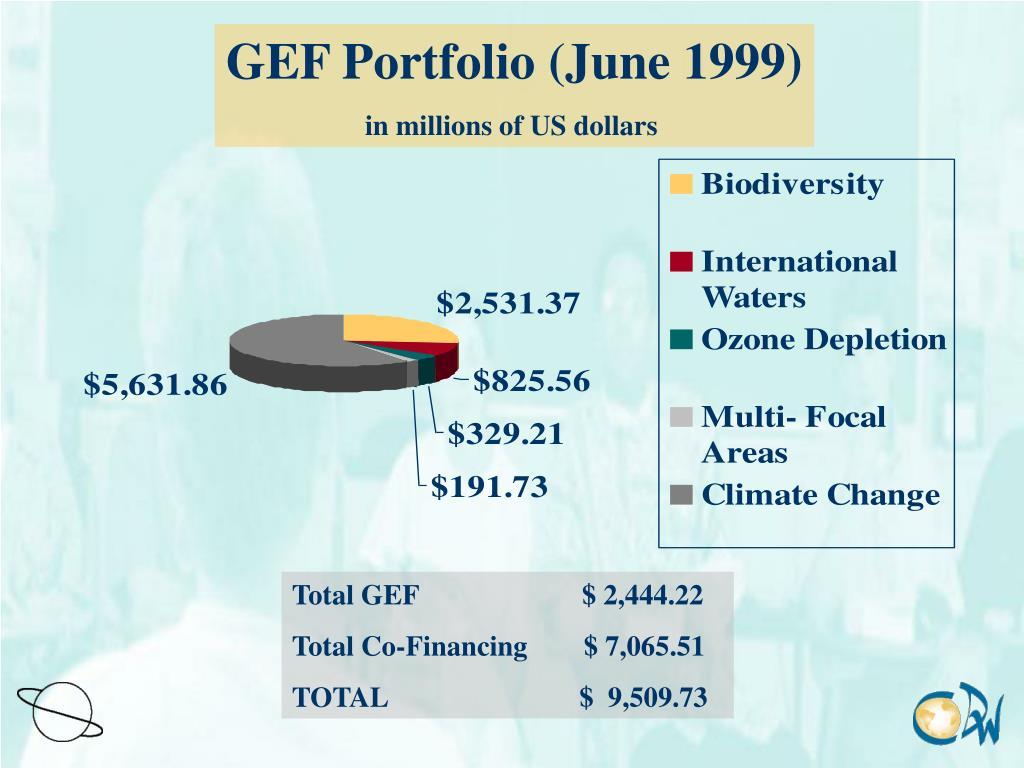 GEF Portfolio (June 1999)