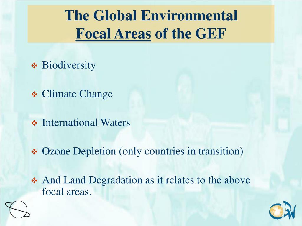 The Global Environmental