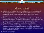 model contd9