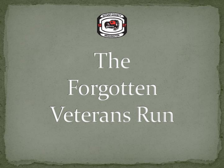 The forgotten veterans run l.jpg