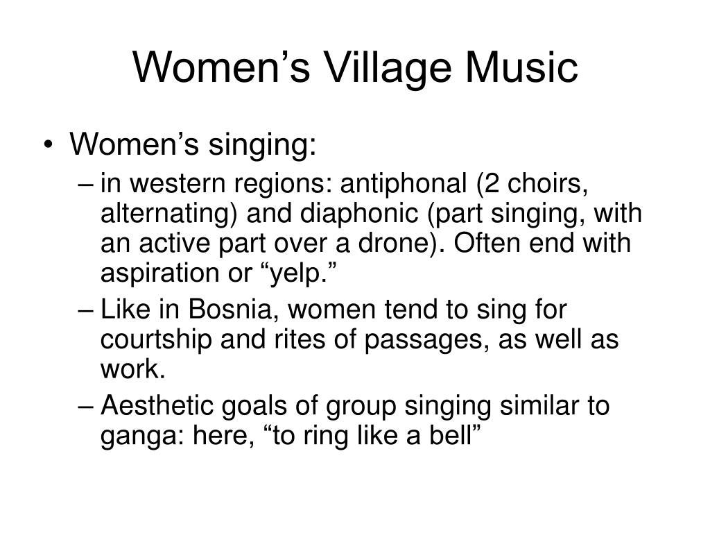 Women's Village Music