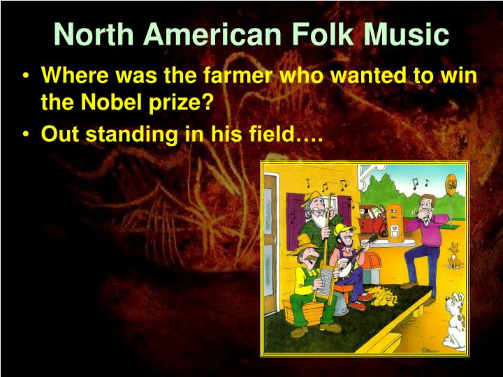 North american folk music