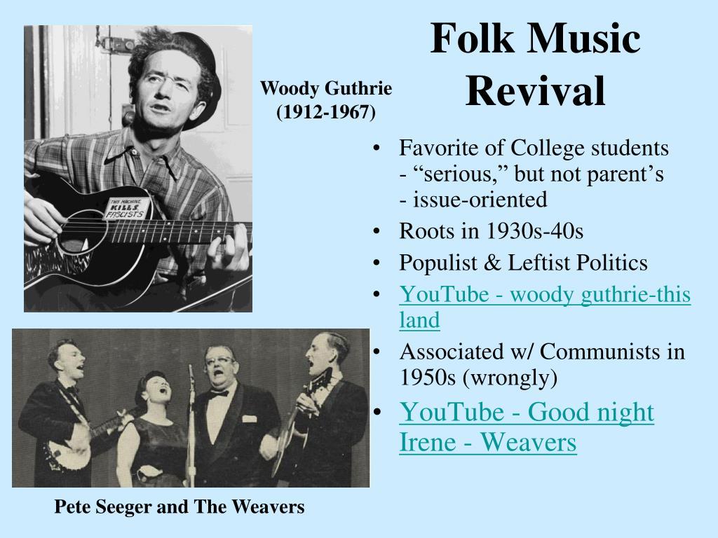 Folk Music Revival