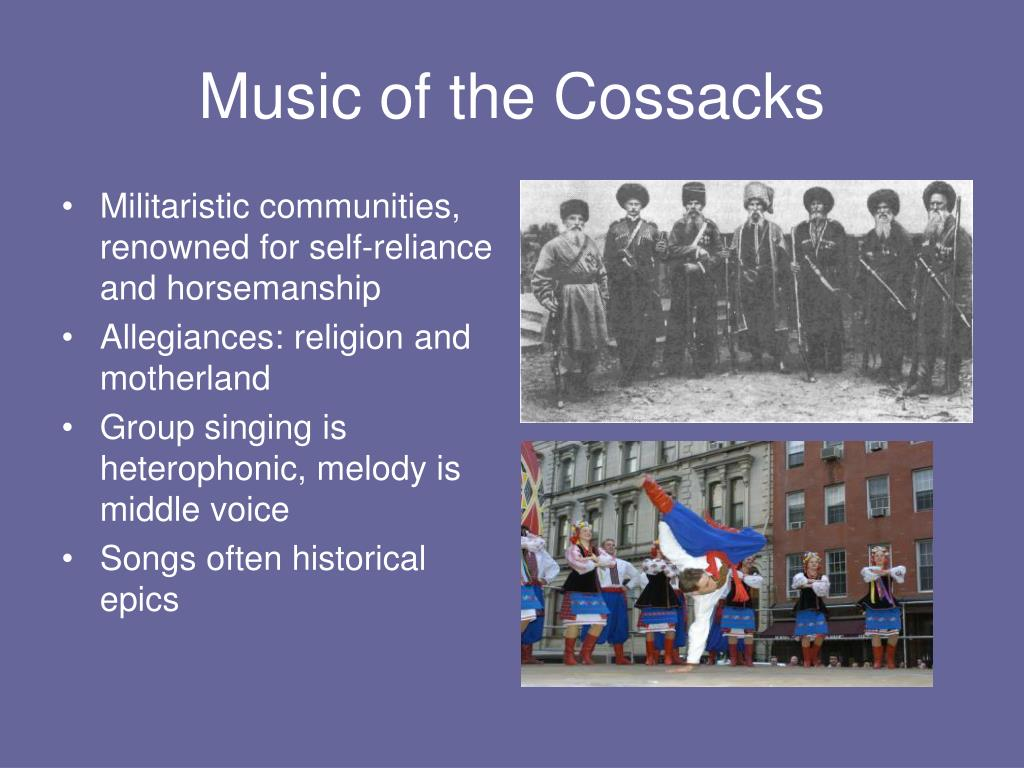 Music of the Cossacks