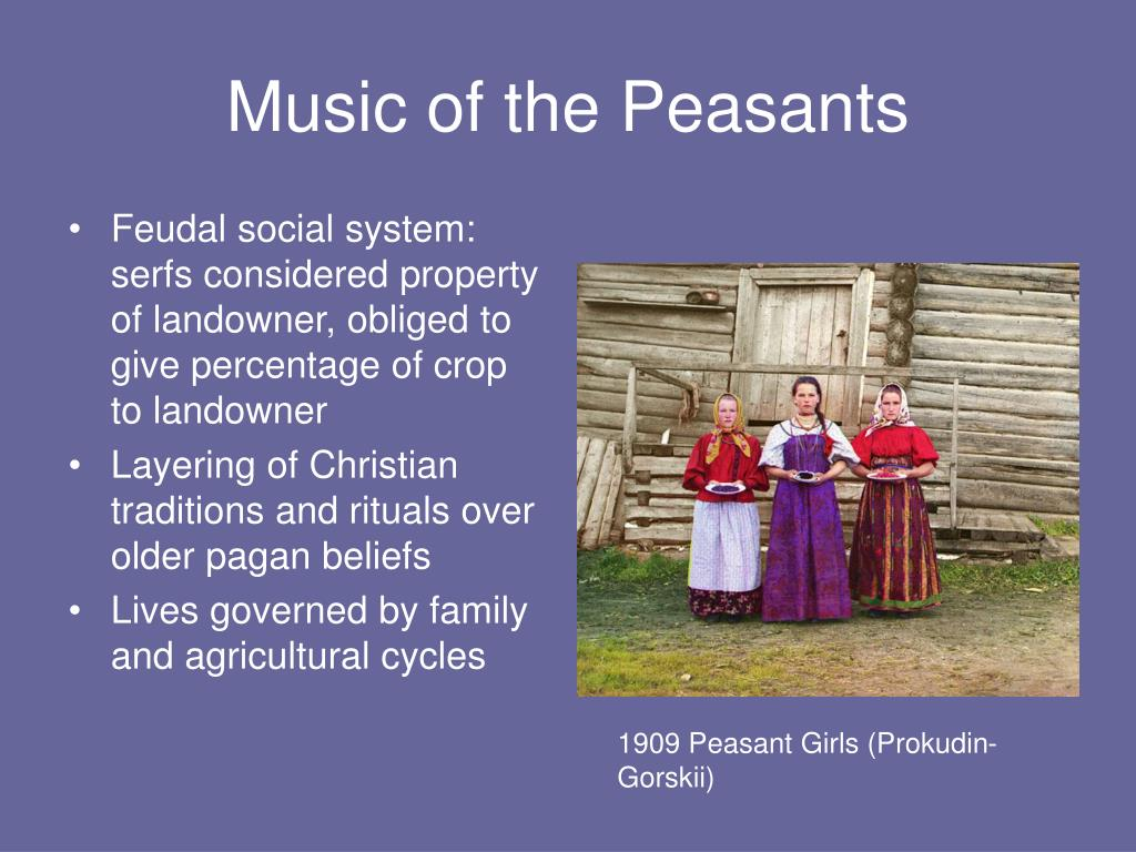 Music of the Peasants