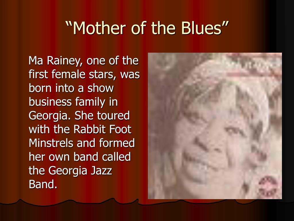 """""""Mother of the Blues"""""""