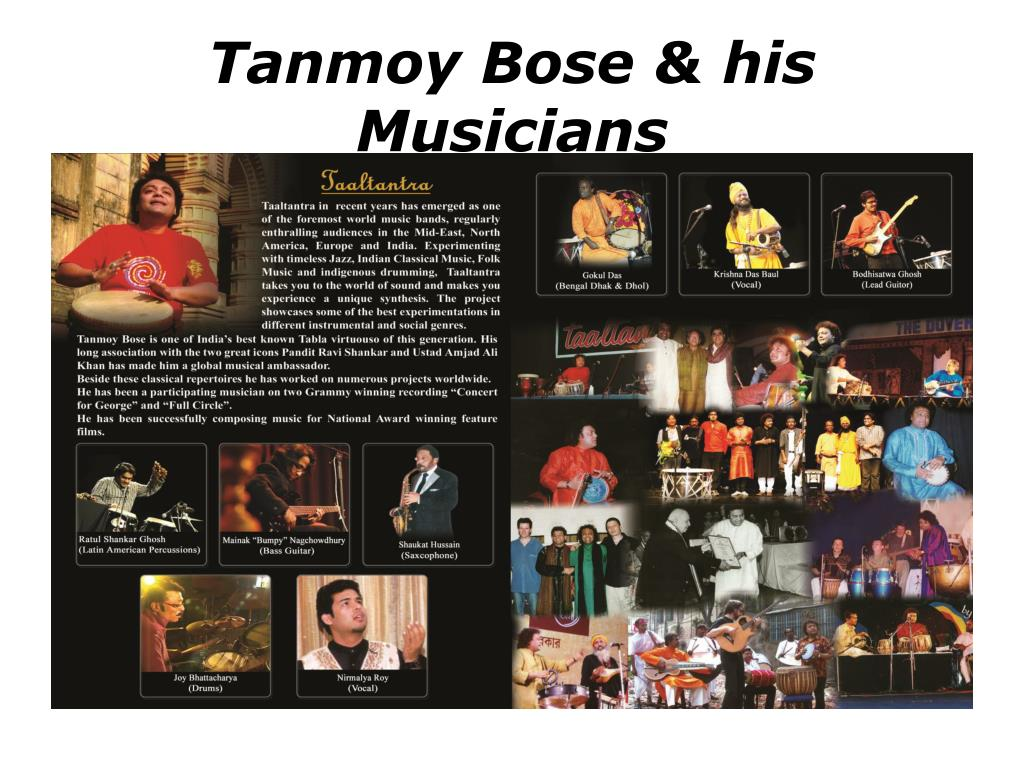 Tanmoy Bose & his Musicians