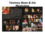 tanmoy bose his musicians