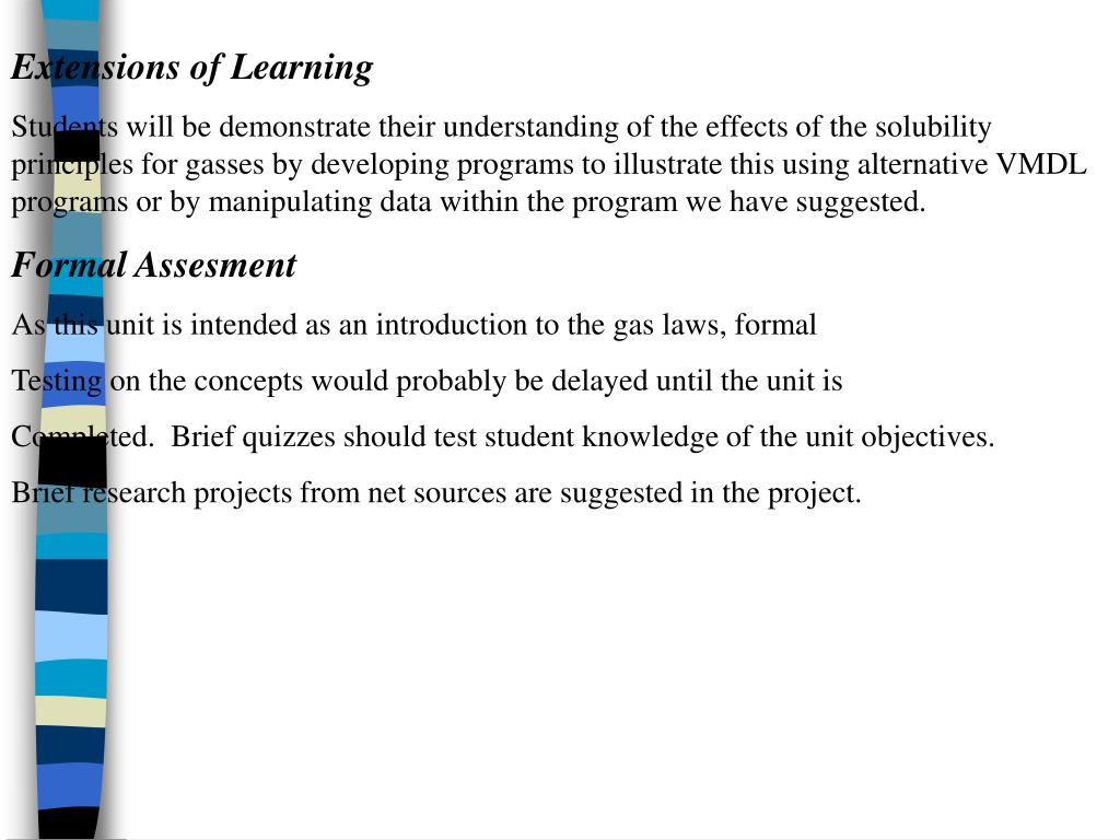 Extensions of Learning