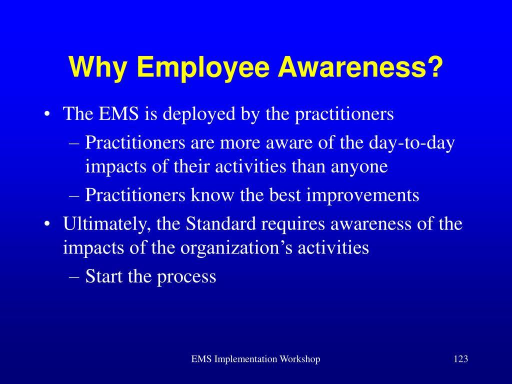 Why Employee Awareness?