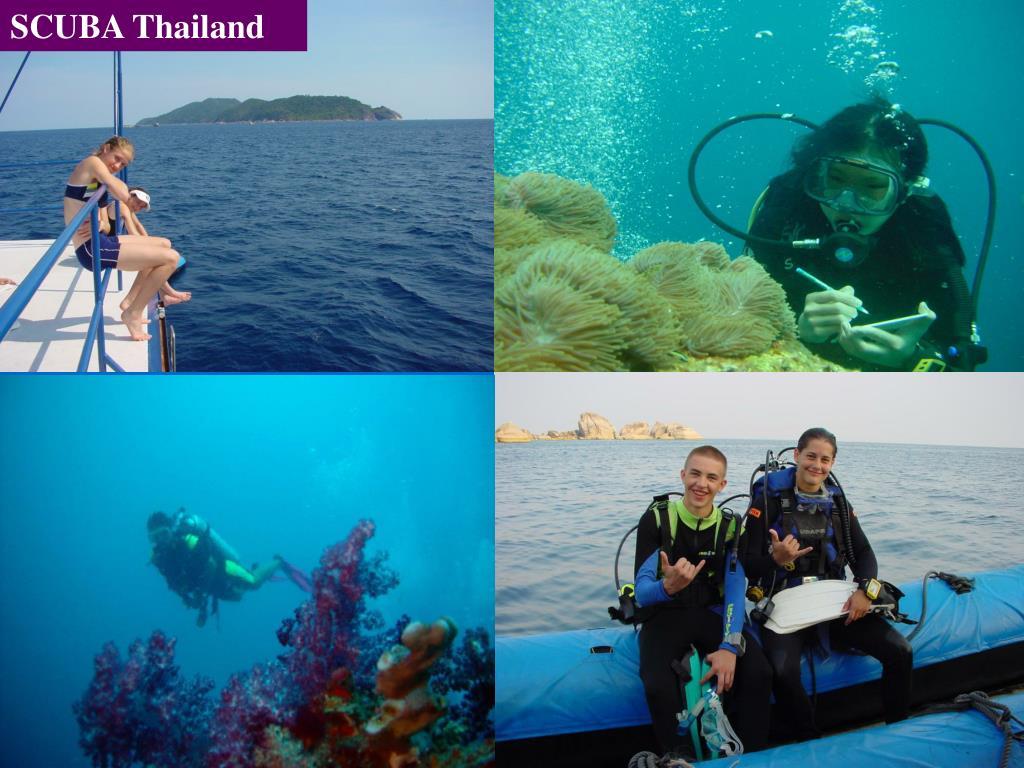 SCUBA Thailand