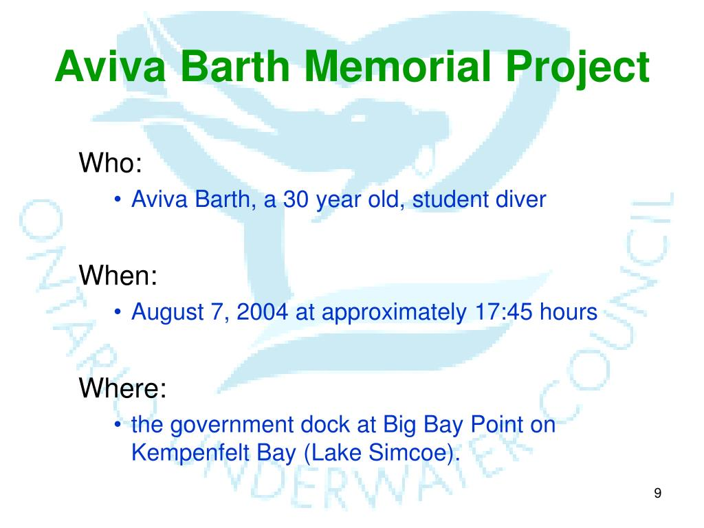 Aviva Barth Memorial Project